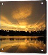 Sunburst Reflection Acrylic Print