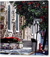 Sunbury Street Acrylic Print