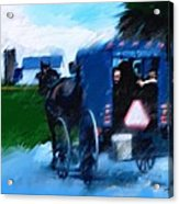 Sunday Buggy Ride Acrylic Print