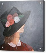 Sunday Hat Acrylic Print by Glenda Barrett