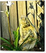 Sunday Morning Angel Acrylic Print