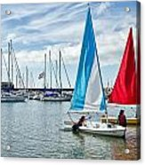 Sunday Sailing 2 Acrylic Print