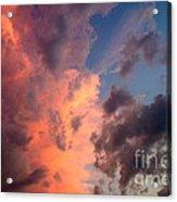 Sunday Sunset Acrylic Print