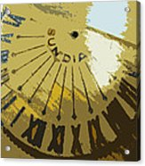 Sundial Acrylic Print