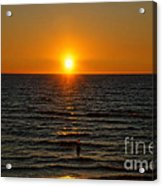 Sundown Admiration Acrylic Print
