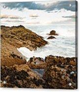 Sundown At Portlethen Acrylic Print