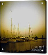 Sundown By The Lake Acrylic Print