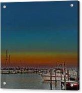 Sundown East Acrylic Print