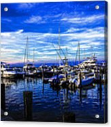 Sundown In Sag Harbor Acrylic Print
