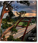 Sundown On Pennybacker 360 Acrylic Print