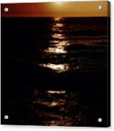 Sundown Reflections On Lake Michigan 02 Acrylic Print