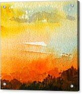 Sundowner Acrylic Print
