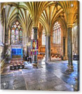 Sunfilled Cathedral Acrylic Print