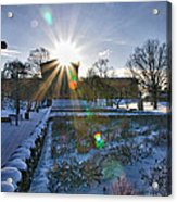 Sunflare At The Back Acrylic Print