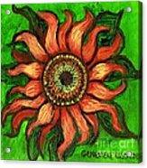 Sunflower 1 Acrylic Print