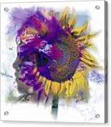 Sunflower Composite Acrylic Print