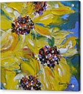 Sunflower Quartet Acrylic Print