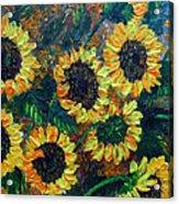 Sunflowers 2 Acrylic Print