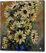 Sunflowers Fantasy Acrylic Print
