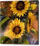 Sunflowers For Cyndi Acrylic Print