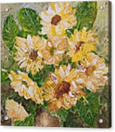 Sunflowers Forever Acrylic Print