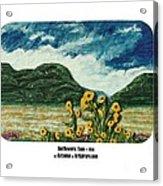 Sunflowers Taos Acrylic Print
