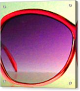 Sunglass - 5d20678 - V1 Acrylic Print by Wingsdomain Art and Photography