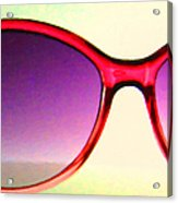 Sunglass - 5d20678 - V2 Acrylic Print by Wingsdomain Art and Photography