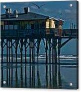 Sunglow Pier 5 Acrylic Print