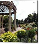Sunken Garden Ironworks 2 Acrylic Print