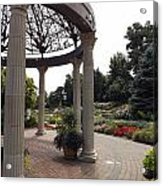 Sunken Garden Ironworks Acrylic Print