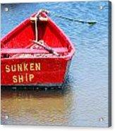 Sunken Acrylic Print