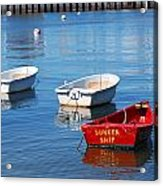 Sunken Ship Acrylic Print by Lorena Mahoney
