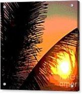 Sunlight - Ile De La Reunion - Reunion Island Acrylic Print