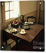 Sunlight On Dining Table Acrylic Print
