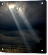 Sunlight Rays In Denver Acrylic Print