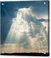 Sunlight Through The Clouds Acrylic Print