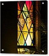Sunlit Chapel Acrylic Print