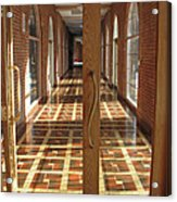 Sunlit Corridor Acrylic Print