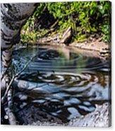 Sunlit Swirls Acrylic Print