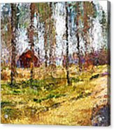 Sunny Day In April Acrylic Print