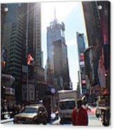 Sunny Days Manhattan Acrylic Print