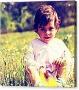 Sunny Girl  Acrylic Print