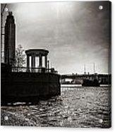 Sunny London Beach 2 Acrylic Print