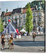 Sunny Slovenia Acrylic Print
