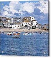 Sunny St Ives Acrylic Print