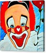 Sunny The Clown......... Acrylic Print