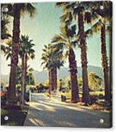 Sunny Warm Happy Acrylic Print