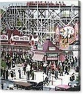 Sunnyside Park Acrylic Print