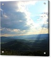 Sunray Valley Acrylic Print